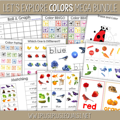 Let's Explore Colors Bundle