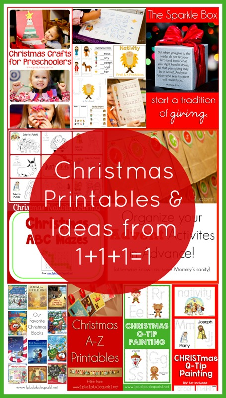 Christmas Printables and Ideas