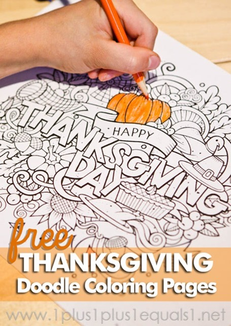 Thanksgiving-Doodle-Coloring-Pages