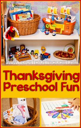 Thanksgiving Preschool Fun