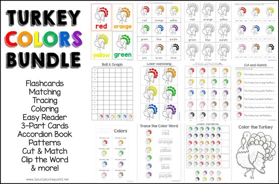 Turkey Colors Bundle Printables