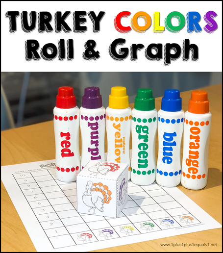 Turkey Colors Roll & Graph Freebie