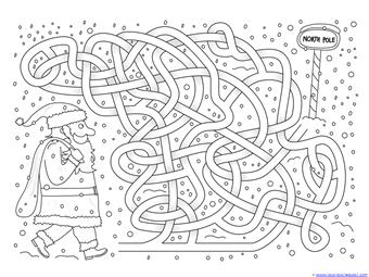 Christmas Mazes (11)