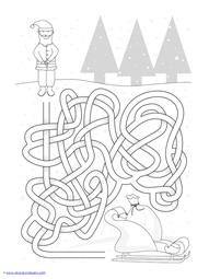 Christmas Mazes (13)