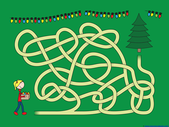 Christmas Mazes (3)