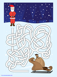 Christmas Mazes (6)
