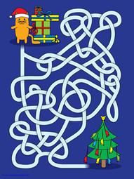 Christmas Mazes (7)