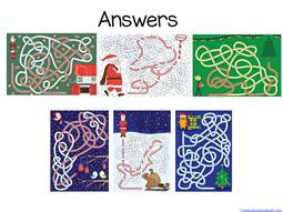 Christmas Mazes (8)