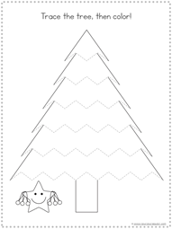 Christmas Tracing Fun Printables (2)