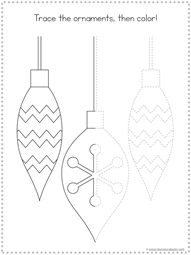 Christmas Tracing Fun Printables (4)