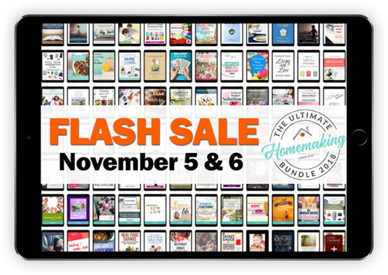 Flash sale Nov 5 and 6 Only