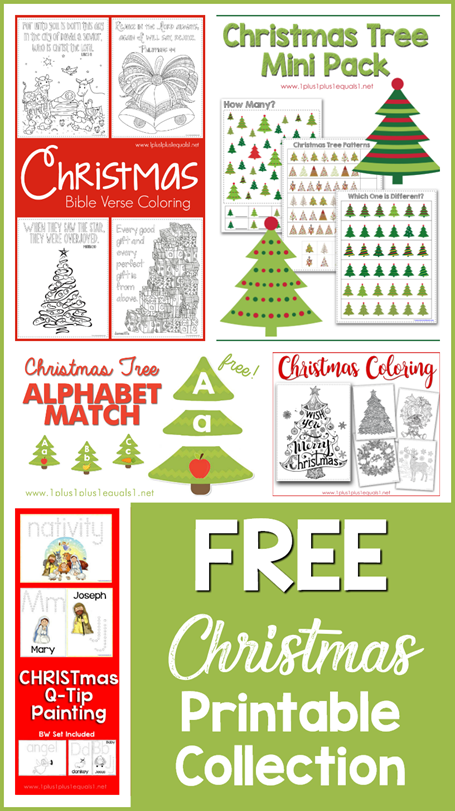 Free Christmas Printable Collection