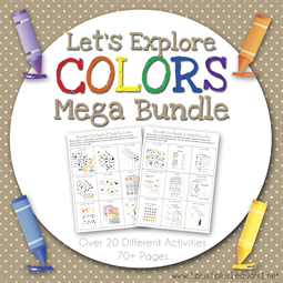 Let's Explore Colors Mega Bundle