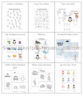 Snowy Fun Printable Mega Bundle (2)