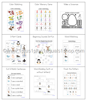 Snowy Fun Printable Mega Bundle (3)