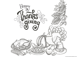 Thanksgiving Coloring Pages (4)