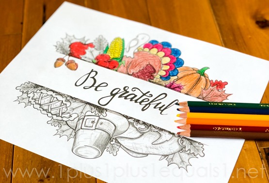 Thanskgiving Coloring Pages