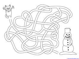 Winter Mazes for Kids (11)