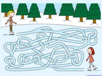 Winter Mazes for Kids (2)