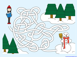 Winter Mazes for Kids (5)
