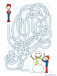Winter Mazes for Kids (7)