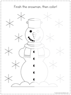 Winter Tracing Fun for Kids (3)