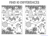 Find the Differences in the Picture WINTER Edition (1)