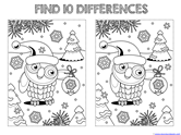 Find the Differences in the Picture WINTER Edition (3)