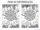 Find the Differences in the Picture WINTER Edition (4)