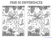 Find the Differences in the Picture WINTER Edition (5)