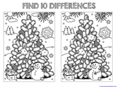 Find the Differences in the Picture WINTER Edition (8)