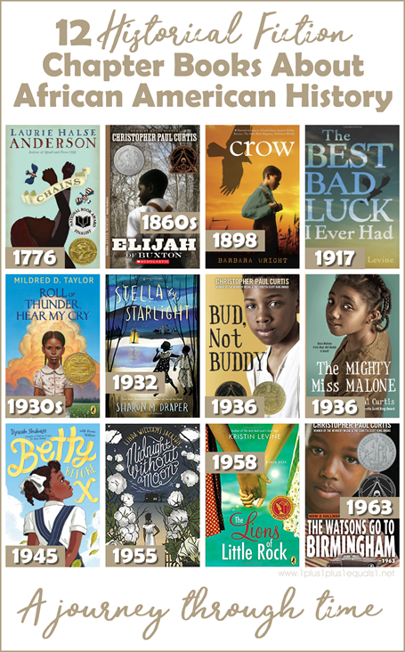 Historical Fiction Chapter Books about African American History