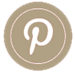 Social Media Icons Brown P