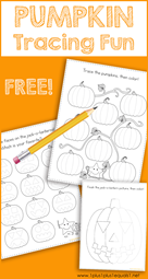 Tracing Fun Pumpkins