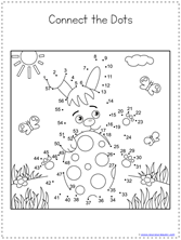 Easter Dot to Dot (5)