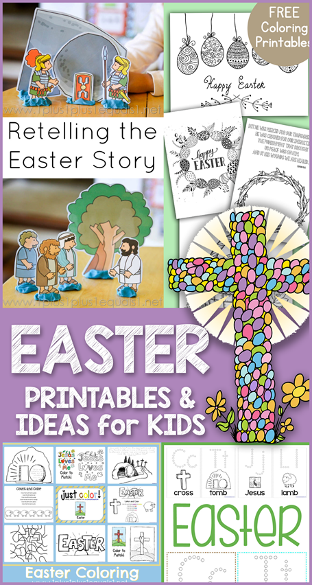 Easter Theme Printables and Ideas for Kids