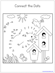 Spring Dot to Dot Printables (7)