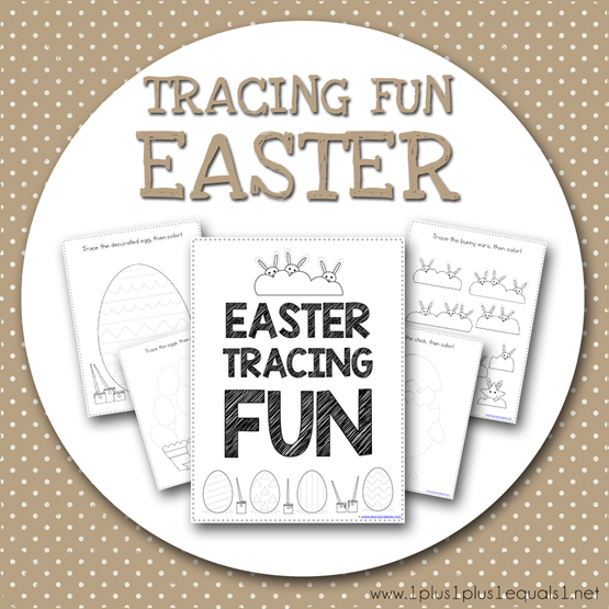 Tracing Fun EASTER