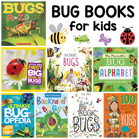 Bug Books for Kids