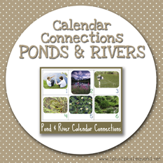 Calendar Connections PONDS AND RIVERS