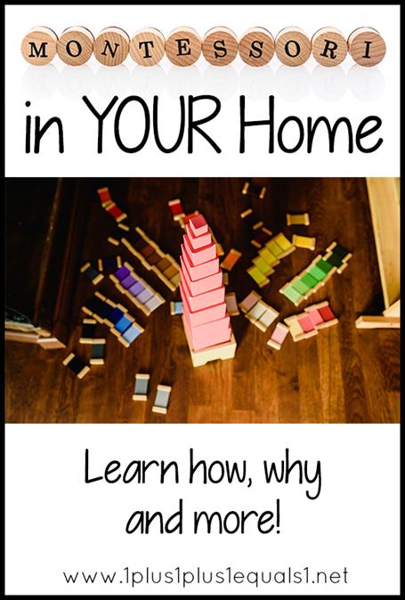 Montessori in Your Home