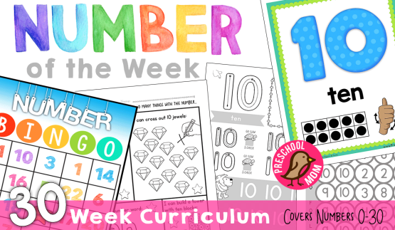 NumberoftheWeekHomeschool