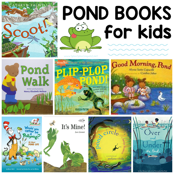 Pond Life Books for Kids