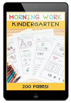 morningworkkindergarten