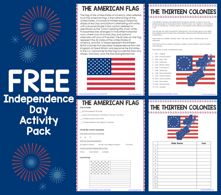 Independence Day Activity Pack