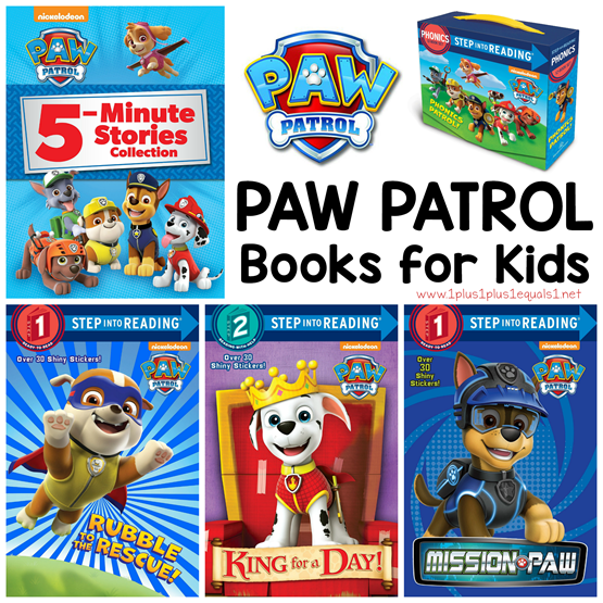 Paw Patrol Books for Kids