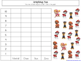 Paw Patrol Kindergarten Printables (1)