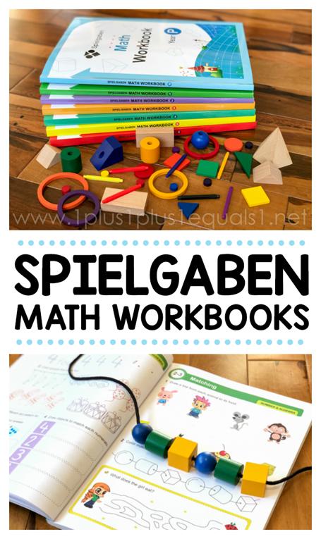 Spielgaben Math Workbooks