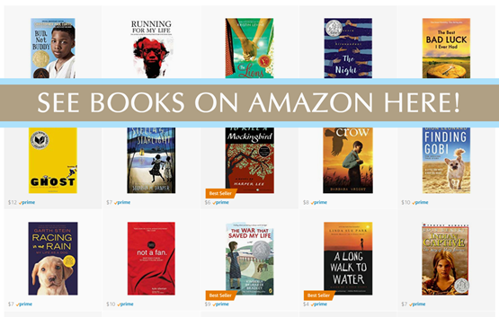 8th Grade Reading List on Amazon