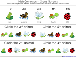 Scoot Kindergarten Literature Unit MATH (1)
